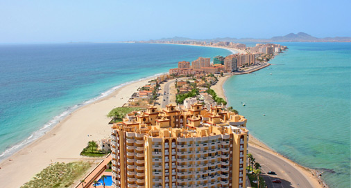 La Manga Booking Dr 248 Mmeferie P 229 Spanias Solkyst
